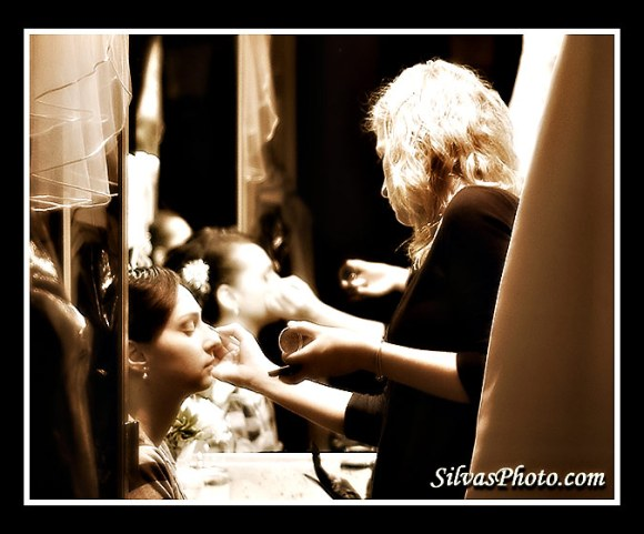 Makeup artist for bride