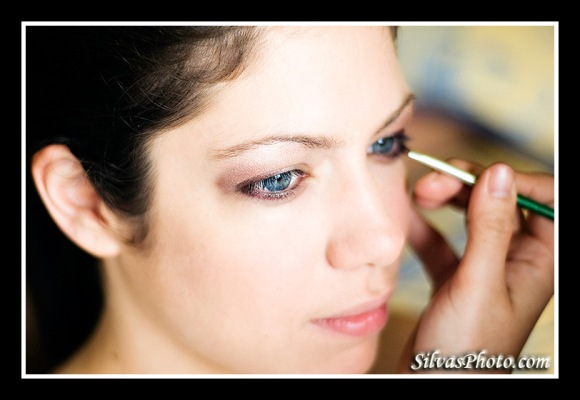 makeup for bridesmaid in Charleston Harbor Resort and Marina