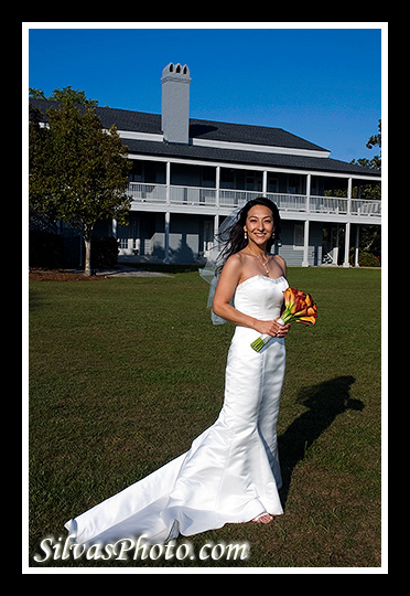 Alhambra Hall in Mt. Pleasant, South Carolina Beautiful Bride