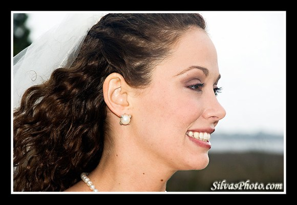 Charleston Harbor Resort and Marina Beautiful Bride