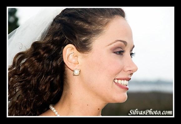 Charleston Harbor Resort and Marina Beautiful Bride