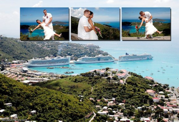 St. Thomas Caribbean Destination Wedding Album