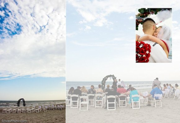 Folly Beach Wedding Ceremony, Charleston, South Carolina