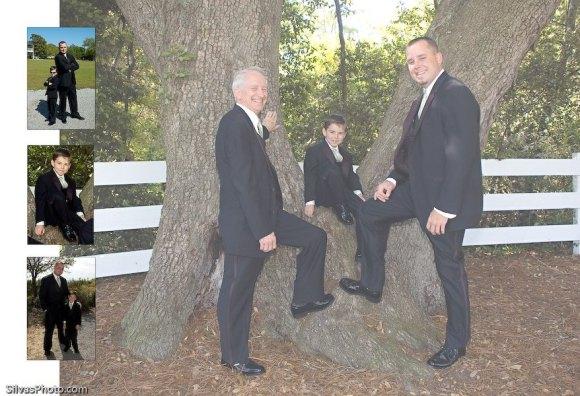 Boy, Groom and Dad