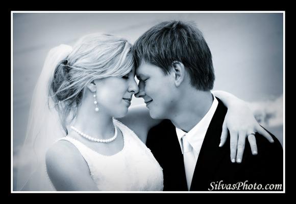 Brian Silvas - Bride and Groom Hugging