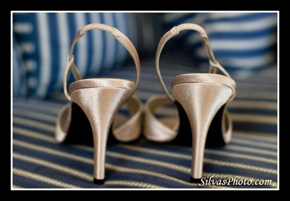Charleston Harbor Resort and Marina Bridal shoes