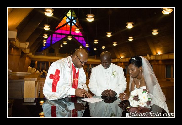 Signing of Wedding Contract
