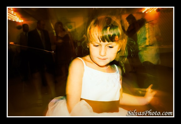 Flower Girl Dancing  Blue Ridge Georgia