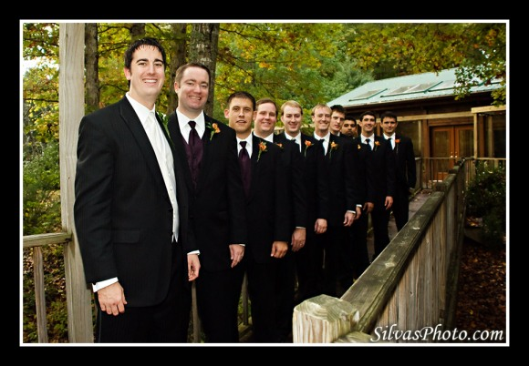 Groom and Groomsmen Chapel Hill, North Carolina