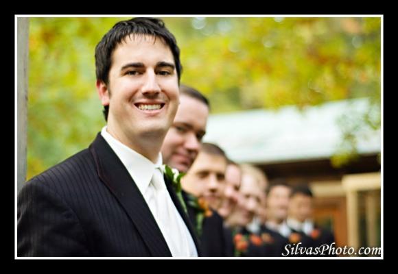 Groomsmen and Groom North Carolina Wedding Photographer