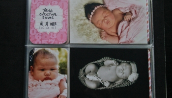 Project Life Baby Brag Book Part 1 Honey Silvas