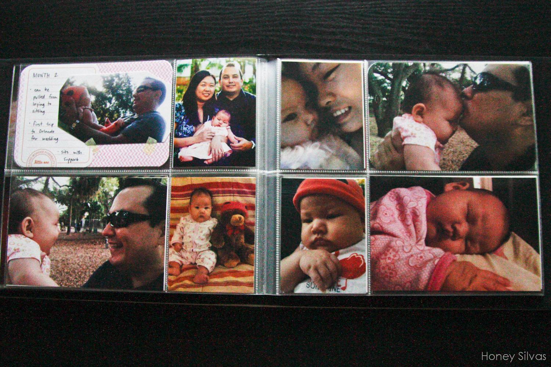 Project Life Baby Mini Album Month 2 Honey Silvas